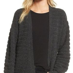 Chelsea28 BNWT gray cozy stitch cardigan sz Large